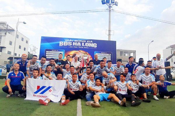 Giải Bóng đá BĐS Hạ Long 2020: Đội BĐS Gia Huy vô địch