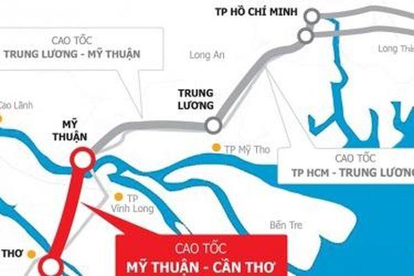Đã tìm đủ nhà thầu xây lắp cho Dự án đường cao tốc Mỹ Thuận – Cần Thơ