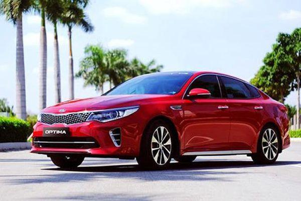 Giá xe ô tô hôm nay 30/12: Kia Optima thấp nhất ở mức 759 triệu đồng