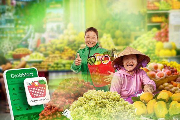 Grab hỗ trợ tiểu thương 'số hóa' chợ truyền thống