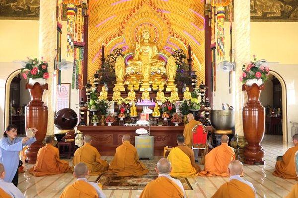 Chùa Thiên Phước vía Phật A Di Đà, tưởng niệm người khai sơn