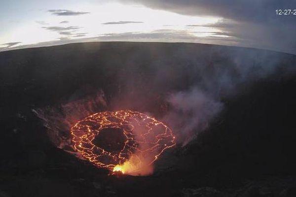 'Hồ nước tử thần' ở khu vực núi lửa Kilauea ở Hawaii, Mỹ có biến mất bí ẩn?