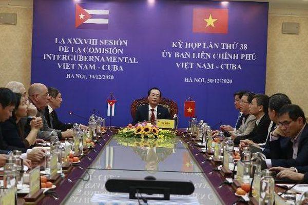 Tiếp tục nâng cao kim ngạch thương mại hai chiều Việt Nam – Cuba