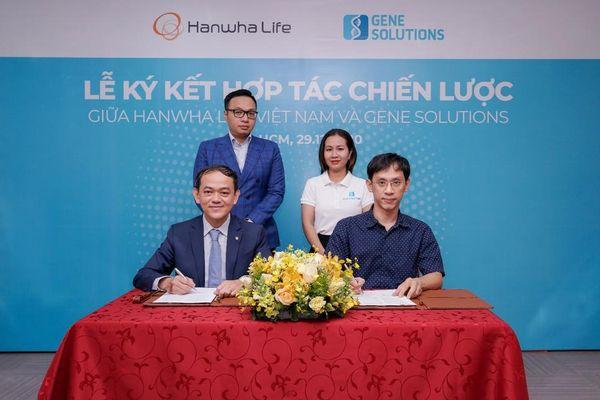 Hanwha Life Việt Nam ký kết hợp tác chiến lược cùng Lotte Finance và Gene Solutions