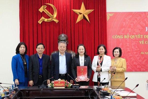 Phó Giám đốc Sở Văn hóa Hà Nội làm Bí thư Huyện ủy Ứng Hòa