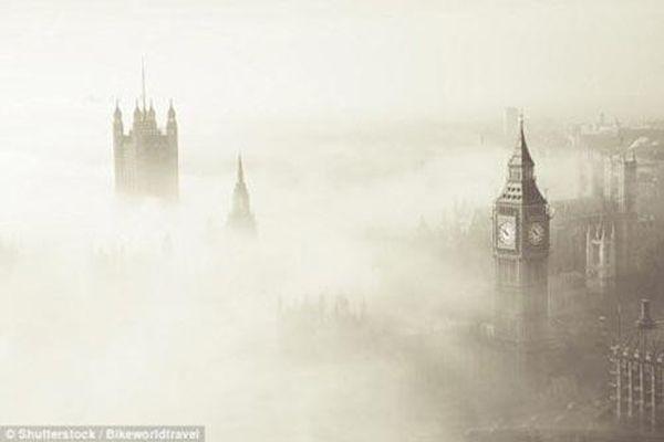 Giải mã 'sương mù bí ẩn' khiến 12.000 người ở Anh thiệt mạng