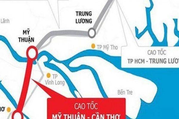 Ngày 4/1 khởi công cao tốc Mỹ Thuận - Cần Thơ