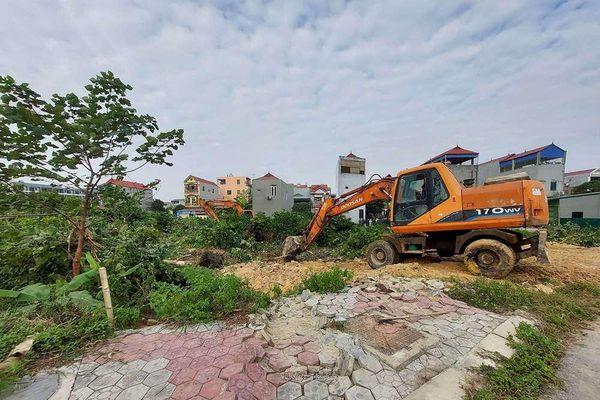 Phúc Yên (Vĩnh Phúc): Cưỡng chế, giải phóng mặt bằng thực hiện Dự án Khu nhà ở TMS Land Hùng Vương