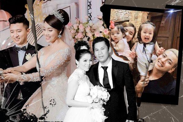 10 cặp đôi sao Việt đổ vỡ năm 2020: Hoài Lâm, Âu Hà My gây chấn động, Lệ Quyên và chồng kết thúc êm đẹp