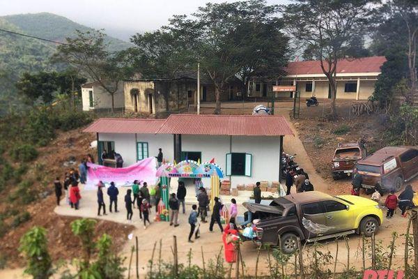 Khánh thành điểm trường mầm non bản Đoàn Kết (Mường Lát)
