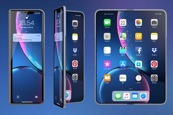 Apple phát triển ít nhất 2 mẫu iPhone với màn hình kép