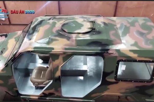 Việt Nam nghiên cứu sản xuất xe thiết giáp hạng nhẹ