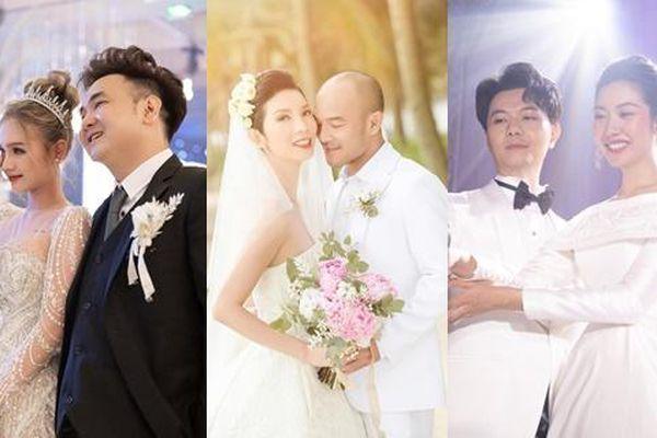 Điểm lại đám cưới sao Việt năm 2020: Xuân Lan, Tóc Tiên giản dị, Xoài Non như công chúa