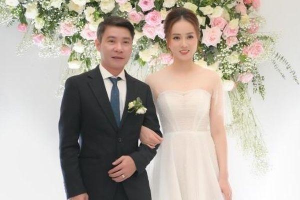 Sao Việt dự đám cưới của 'cô Đẩu' Công Lý và bạn gái kém 15 tuổi
