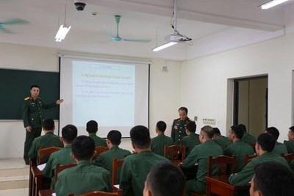 Mô hình bài giảng '3 tốt' ở Trường Sĩ quan Chính trị