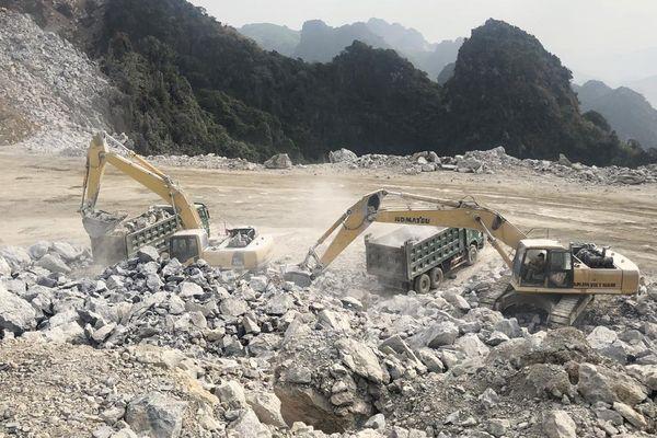 Khắc phục ô nhiễm môi trường trong hoạt động khai thác đá