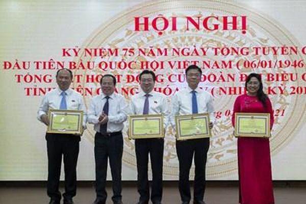 Đoàn đại biểu Quốc hội tỉnh Kiên Giang thực hiện tốt trọng trách của người đại biểu dân cử