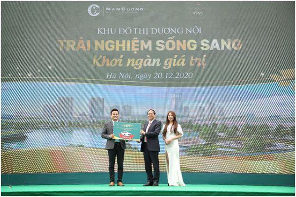 Sự kiện trải nghiệm KĐT Dương Nội thu hút gần nghìn khách hàng tham dự