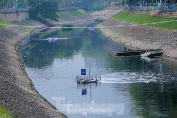 Hà Nội đề xuất bổ cập nước sông Hồng cho sông Tô Lịch từ cống Liên Mạc