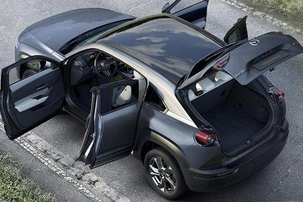 Mazda CX-50 - thế hệ mới của CX-5 lộ thiết kế SUV lai Coupe