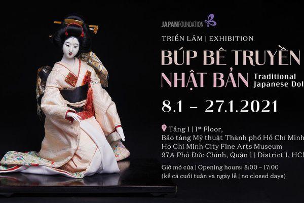 Đặc sắc triển lãm búp bê truyền thống Nhật Bản