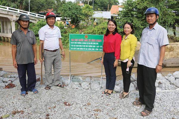 Hội Cựu chiến binh góp sức bảo vệ môi trường