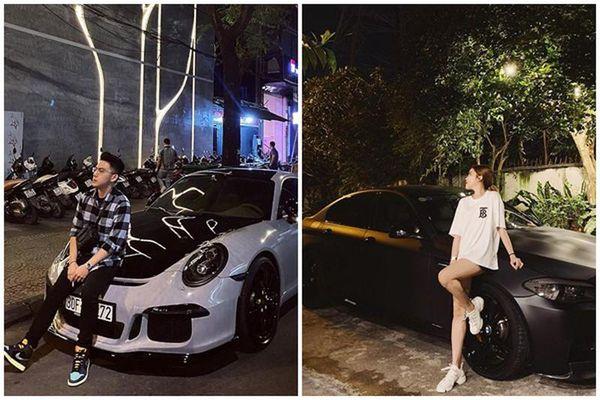 Khoe độ giàu, CEO Tống Đông Khuê sắm xe đôi với bạn gái