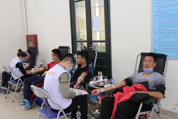 Lan tỏa phong trào hiến máu tình nguyện tại Trường Đại học Sư phạm TDTT Hà Nội