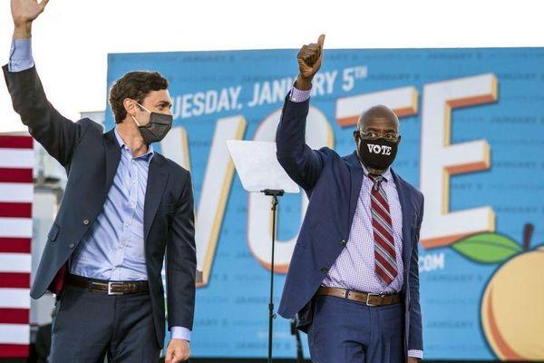 Truyền thông Mỹ: Đảng Dân chủ Mỹ chiến thắng tuyệt đối ở Georgia, giành lại quyền kiểm soát Thượng viện