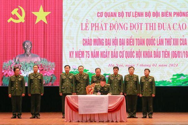 Phát động Đợt thi đua cao điểm chào mừng Đại hội XIII của Đảng