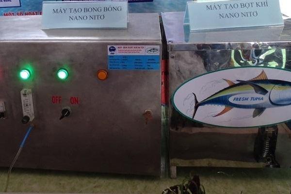 Ứng dụng công nghệ nano UFB để bảo quản cá ngừ đại dương trên tàu câu tay