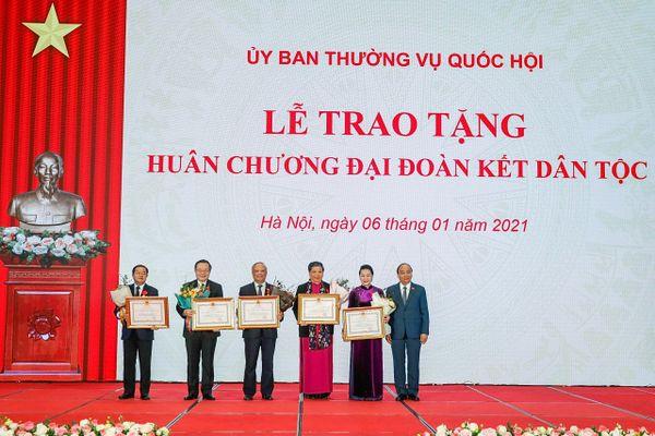 Tổng Bí thư, Chủ tịch nước Nguyễn Phú Trọng dự gặp mặt các thế hệ đại biểu Quốc hội nhân kỷ niệm 75 năm Ngày Tổng tuyển cử đầu tiên