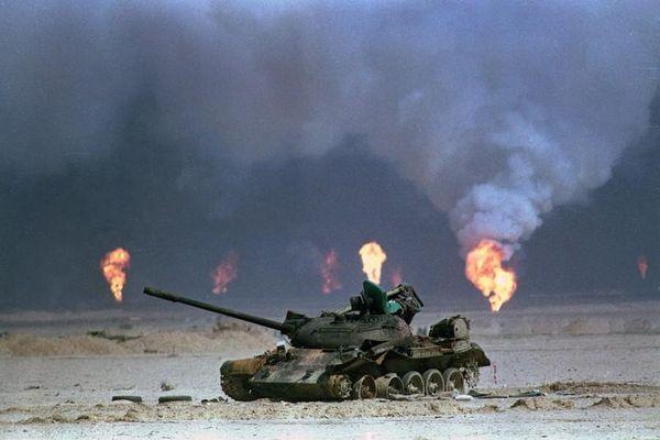 Trung Đông hoang tàn trong Chiến tranh vùng Vịnh lần thứ nhất