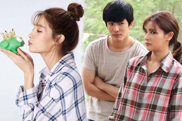 Cặp đôi vàng trong làng phim Thái Son-Vill lại yêu nhau nồng cháy trong Hoàng tử ếch