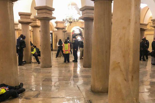 Châu Âu 'sốc nặng' trước vụ bạo động tại đồi Capitol