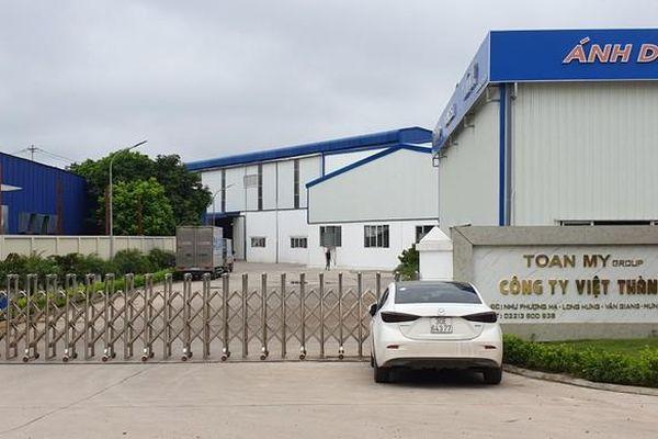Hưng Yên: Công ty Việt Thành hoạt động nhiều năm không có PCCC