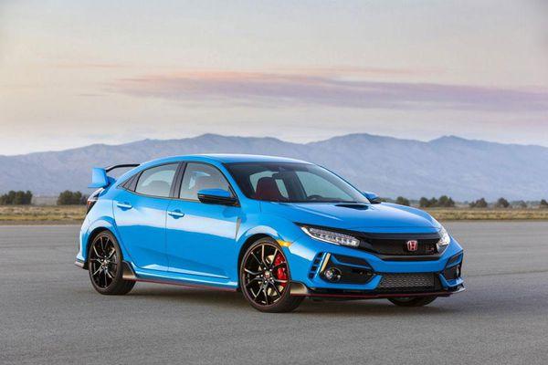 Honda Civic Type R 2021 chốt giá gần 900 triệu đồng