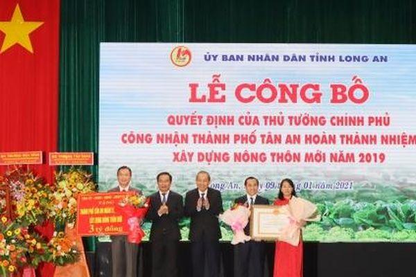 TP. Tân An hoàn thành nhiệm vụ xây dựng nông thôn mới