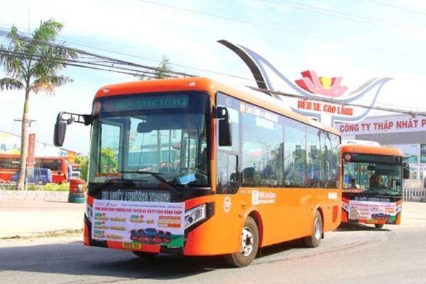 Phương Trang khai trương 4 tuyến xe buýt mới tại tỉnh Đồng Tháp