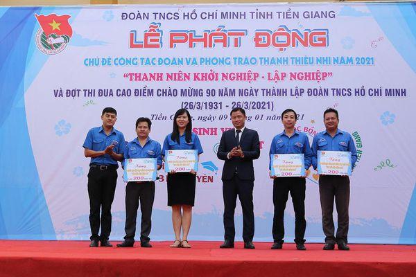 Hàng trăm bạn trẻ tỉnh Tiền Giang hào hứng với hành trang khởi nghiệp thời đại 4.0