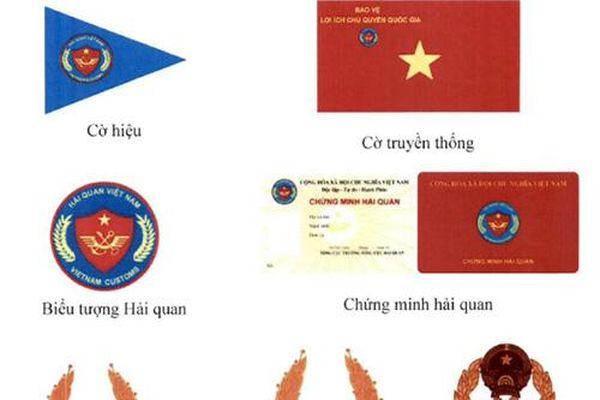 Quy định mới về cờ truyền thống cờ hiệu biểu tượng hải quan