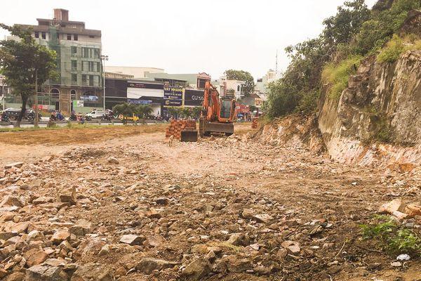 Dự án hoa viên TP Quy Nhơn (Bình Định): Tự ý xây dựng khi chưa có giấy phép