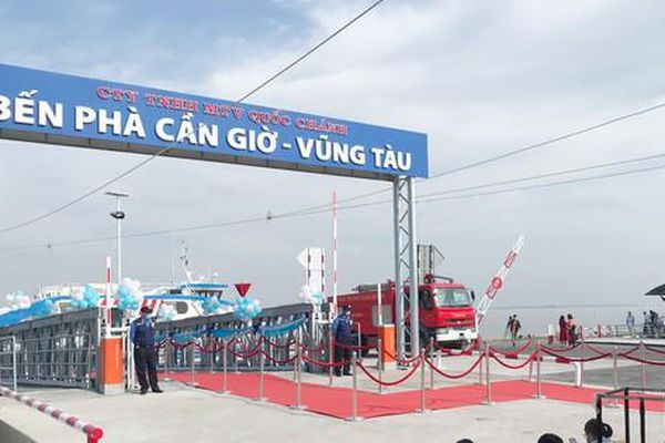 Phải đảm bảo an toàn cho tuyến phà biển Cần Giờ - Vũng Tàu