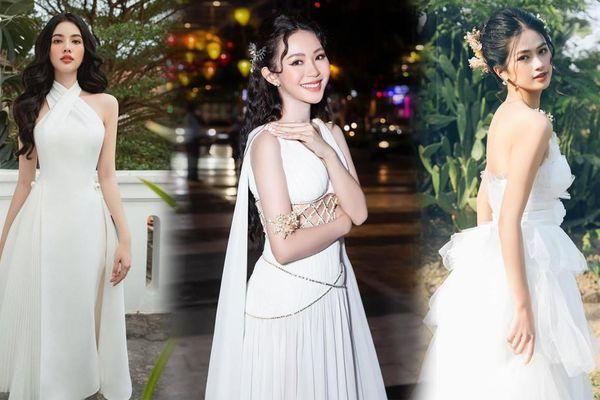 Người đẹp Cẩm Đan kiêu kỳ, Minh Anh xinh đẹp tựa nữ thần