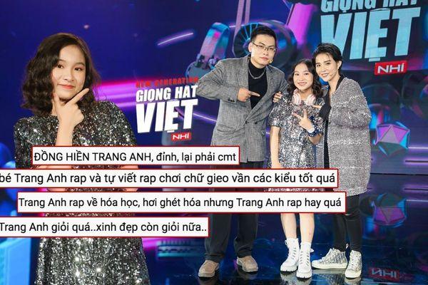 'Bài ca hóa học' của Trang Anh Giọng hát Việt nhí New Generation 2021 'gây sốt' mạng xã hội