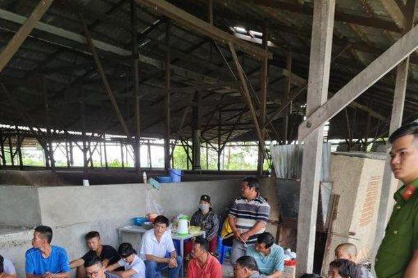 Triệt phá điểm đá gà, lắc tài xỉu quy mô lớn tại huyện Vĩnh Thạnh