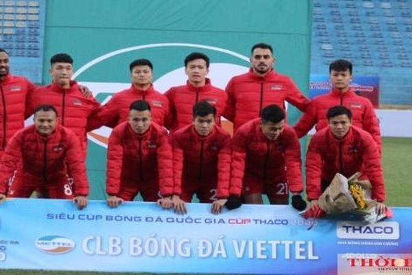 Lịch thi đấu lượt đi V-League 2021 của Viettel