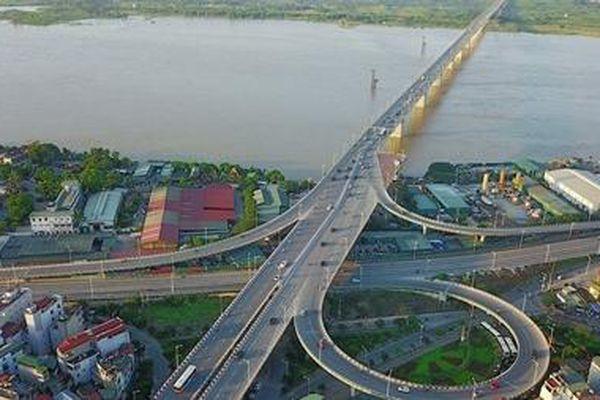 Khởi công xây dựng cầu Vĩnh Tuy - giai đoạn 2