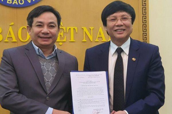 Hội Nhà báo Việt Nam giao quyền Chánh Văn phòng cho ông Phan Toàn Thắng