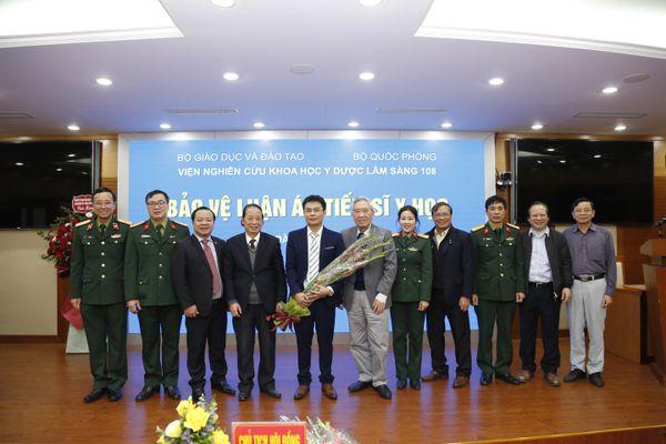 Chúc mừng nghiên cứu sinh Hoàng Văn Lương được công nhận học vị Tiến sĩ
